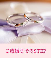 ご成婚までのSTEP